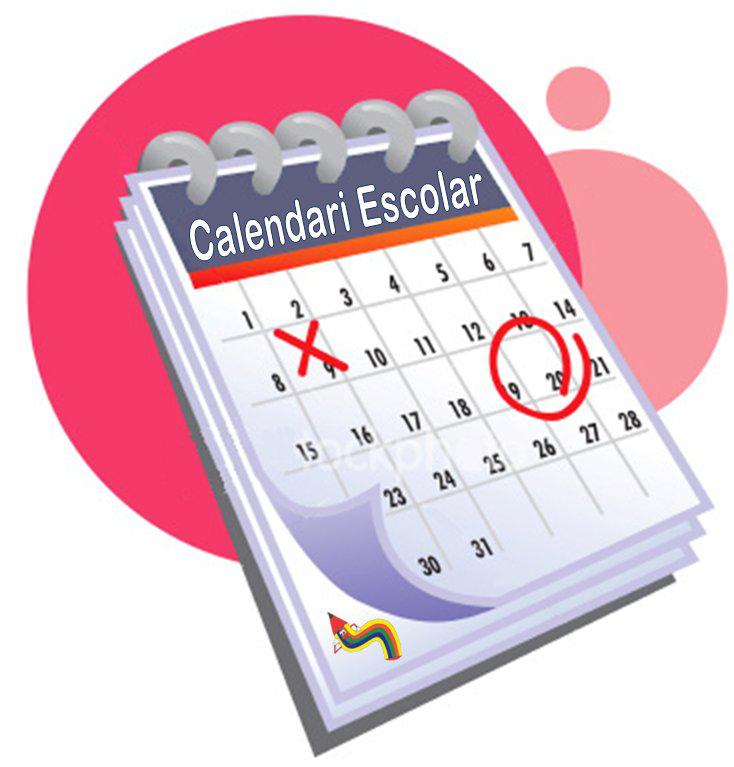 Calendari escolar – Escola Lola Anglada – Tiana – 934655626